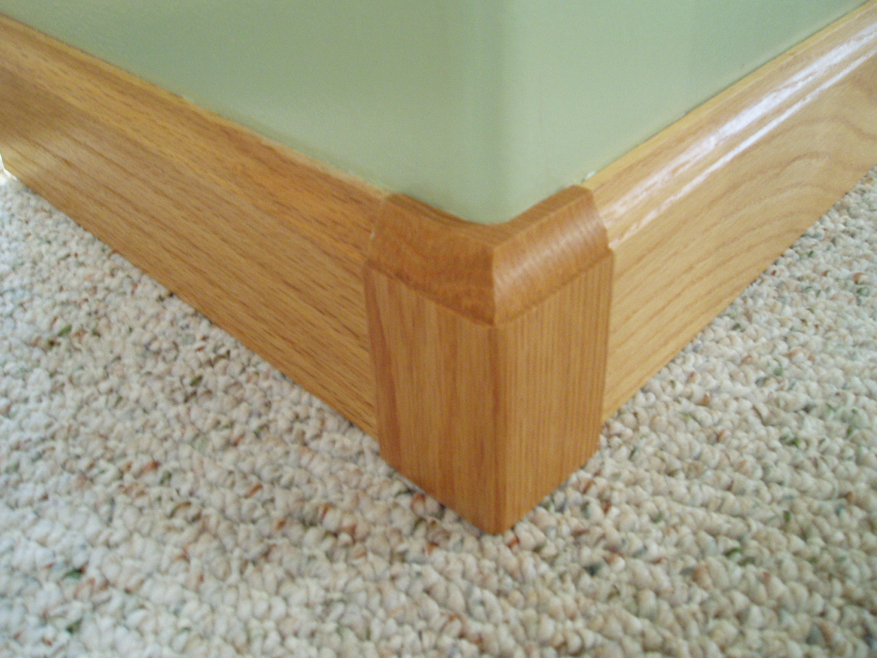 Baseboard Moulding On Rounded Corners Round Designs